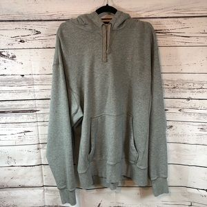 Nike hoodie gray with pockets heavy duty